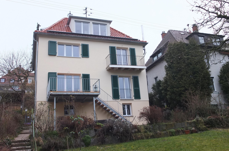 Architekten Esslingen l45 einfamilienhaus kfw100 fuchs architekten architekt